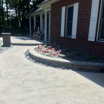 Masonry Concrete Services From C and H Concrete